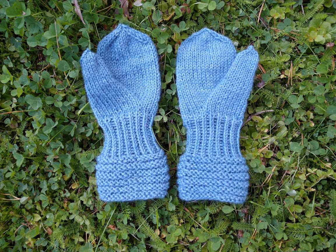 Lapaset merinovillaa - ManyMonths Wool Mittens